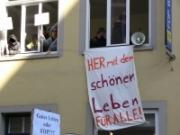 Besetze FDP-Zentrale in Bremen